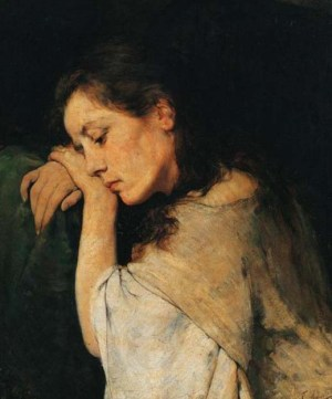 georgios-iakovidis-una-mujer-triste-pintores-y-pinturas-juan-carlos-boveri